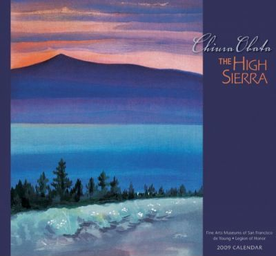 Chiura Obata The High Sierra 2009 Calendar