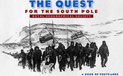 The Quest for the South Pole Book of Postcards Aa554