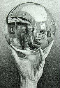M.C. Escher Hand with Reflecting Sphere Jigsaw Puzzle