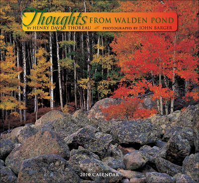 Thoughts from Walden Pond Wall Calendar