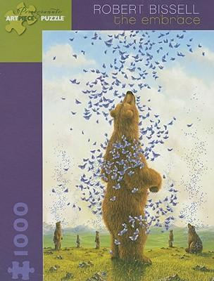 Robert Bissell the Embrace 1 000-Piece Jigsaw Puzzle Aa587