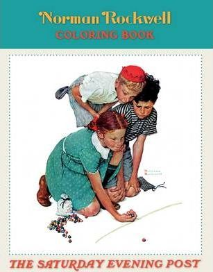 Norman Rockwell Coloring Book Cb100