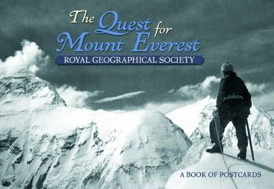 Quest for Mount Everest the Book of Postcards Aa600