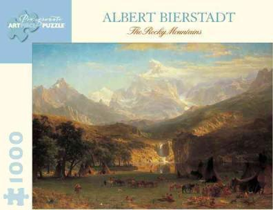Albert Bierstadt - the Rocky Mountains
