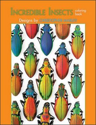 Incredible Insects of Christopher Marley Colouring Book