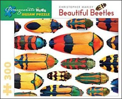 Beautiful Beetles 300-Piece Jigsaw Puzzle Jk004