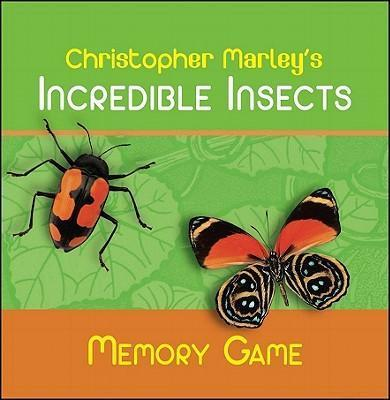 Christopher Marley's Incredible Insects Memory Game Mg001