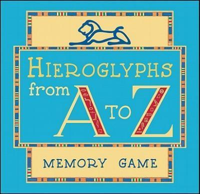 Hieroglyphs from a to Z Memory Game Mg004