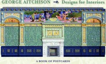 George Aitchison Interiors Book of Postcards Aa660