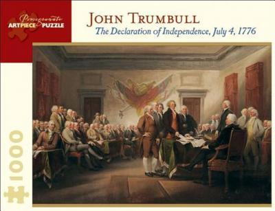 The Declaration of Independence July 4 1776 1000-Piece Jigsaw Puzzle Aa676