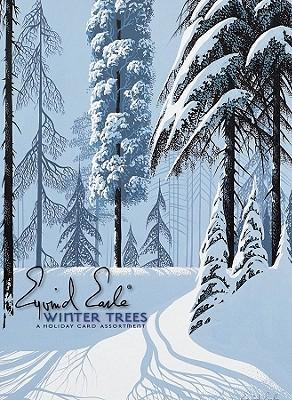 Eyvind Earle: Winter Trees Holiday Cards
