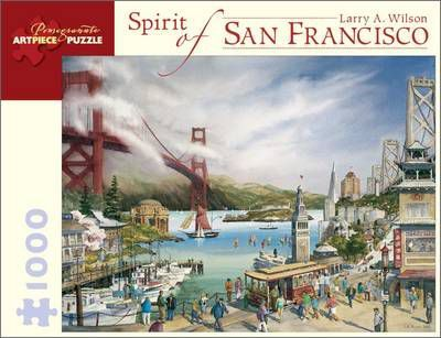 Spirit of San Francisco 1000-Piece Jigsaw Puzzle Aa677