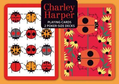Charley Harper Poker Playing Cards Pd003