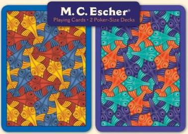 M. C. Escher Poker Playing Cards