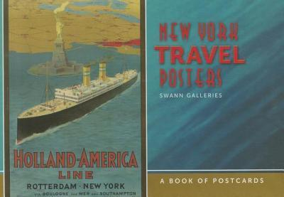 New York Travel Posters Book of Postcards Aa703