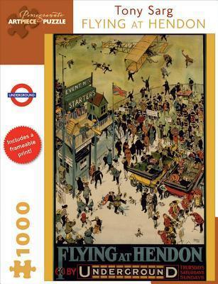 Flying at Hendon 1,000-Piece Jigsaw Puzzle