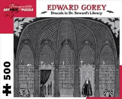 Dracula in Dr. Seward's Library 500-Piece Jigsaw Puzzle Aa711