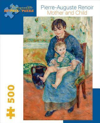 Renoir Mother and Child 500-Piece Jigsaw Puzzle Aa710