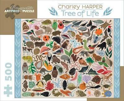 Charley Harper Tree of Life 500-Piece Jigsaw Puzzle