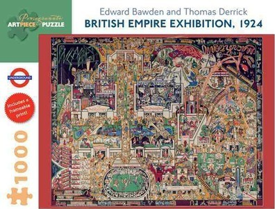 British Empire Exhibition 1924 1000-Piece Jigsaw Puzzle