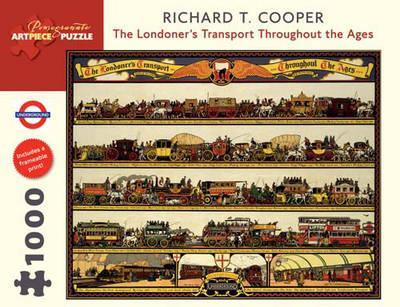 The Londoners Transport Throughout the Ages 1000-Piece Jigsaw Puzzle Aa735