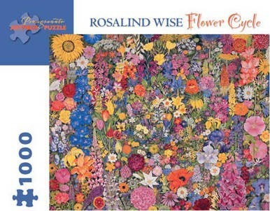 Flower Cycle 1000-Piece Jigsaw Puzzle Aa742