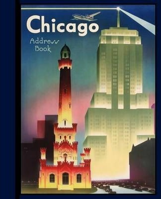 Chicago Deluxe Address Book Aa748