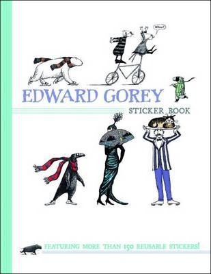 Edward Gorey Sticker Book Bs001