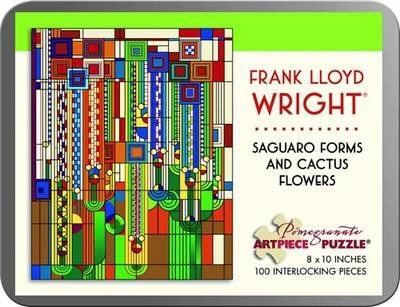 Frank Lloyd Wright/Saguaro Forms 100 Piece Tin Puzzle