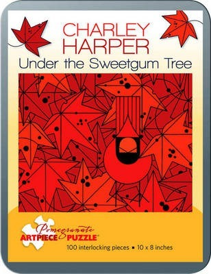 100 Piece Tin Puzzle Charley Harper/Under Sweetgum Tree Aa762
