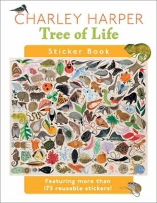 Charley Harper Tree of Life Sticker Book Bs006