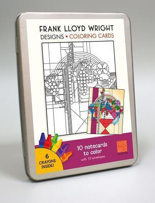 FLW Designs Colouring Card Kit CC107