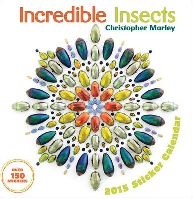 2015 Chiristopher Marley Incredible Insects Sticker Calendar