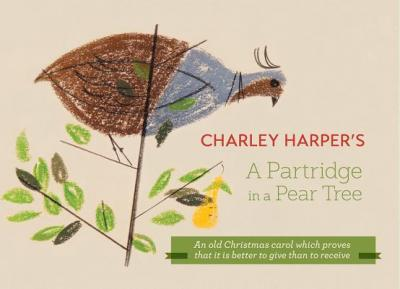 Charley Harper a Partridge in a Pear Tree A236