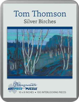 Tom Thomson : Silver Birches 100-Piece Jigsaw Puzzle