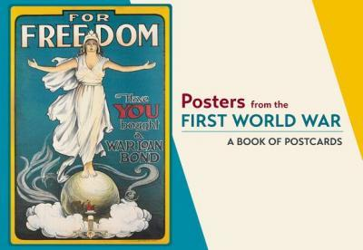 Posters from the First World War Book of Postcards Aa862
