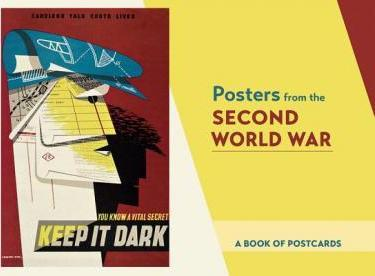 Posters from the Second World War Book of Postcards Aa863