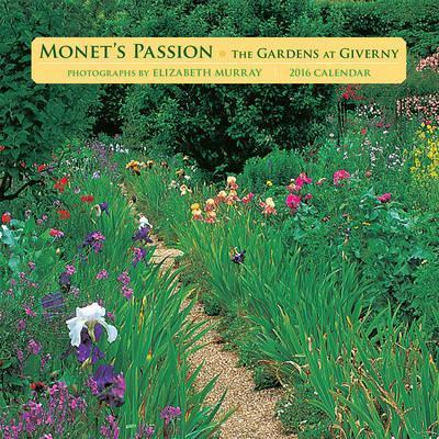 2016 Monet's Passion/The Gardens At GivernyMini Wall Calendar