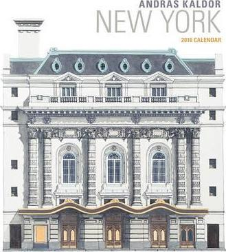 2016 Kaldor/New York Wall Calendar
