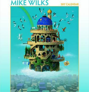 Mike Wilks 2017 Wall Calendar
