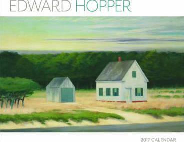 Edward Hopper 2017 Wall Calendar