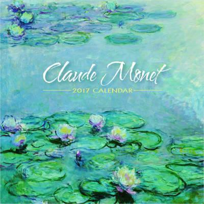 Claude Monet 2017 Mini Wall Calendar