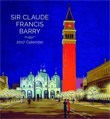 Sir Claude Francis Barry 2017 Wall Calendar