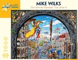 Mike Wilks the Ultimate Alphabet the Letter a 1000-Piece Jigsaw Puzzle Aa922