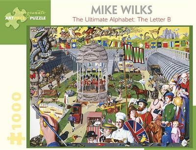 Mike Wilks the Ultimate Alphabet the Letter B 1000-Piece Jigsaw Puzzle
