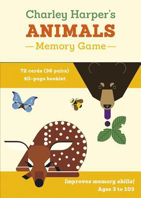 Charley Harper's Animals Memory Game Mg014