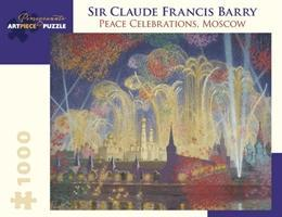 Sir Claude Francis Barry Peace Celebrations Moscow 1000-Piece Jigsaw Puzzle Aa971