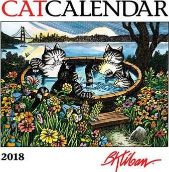 Kliban/Catcalendar Mini 2018 Calendar