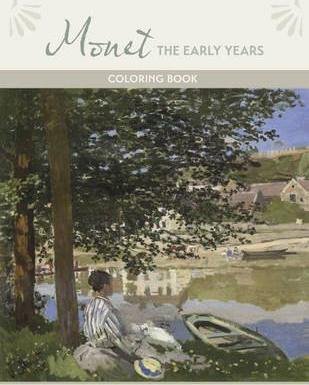 Monet the Early Years Coloring Book Cb188
