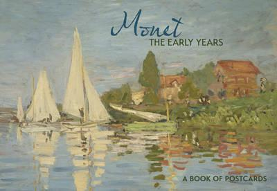 Monet the Early Years Book of Postcards Aa974
